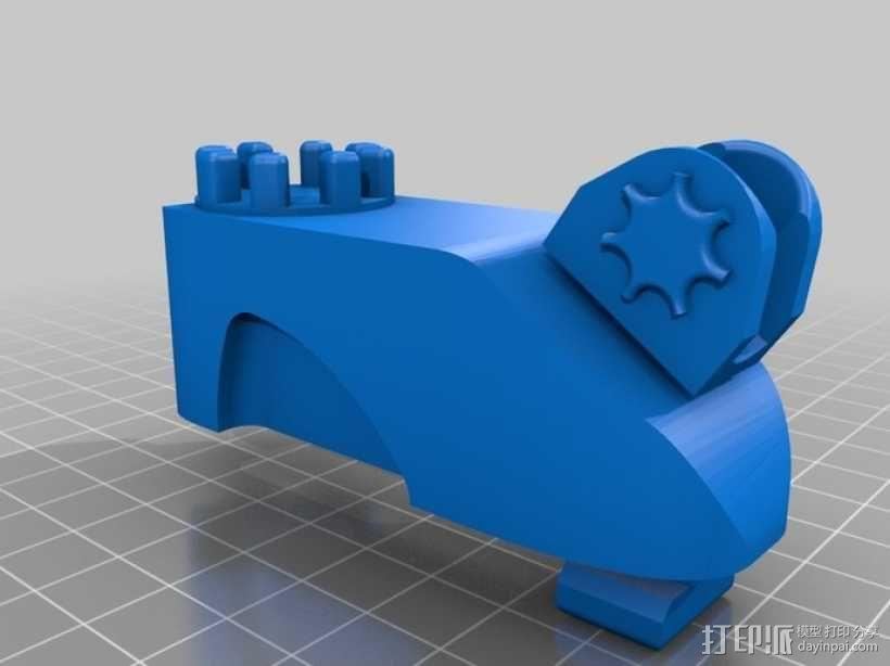 CheBOT象棋模型 3D模型  图6