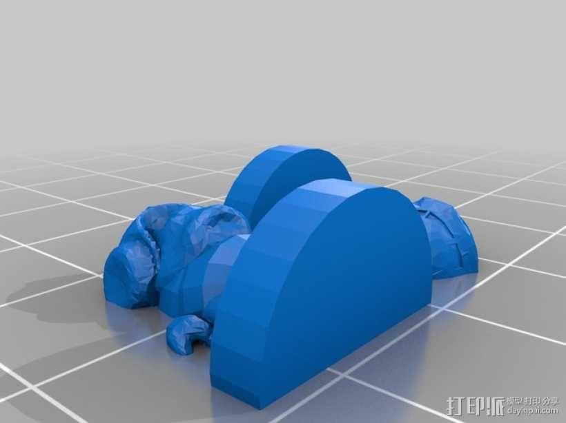 Pocket-Tactics:戈尔 3D模型  图1