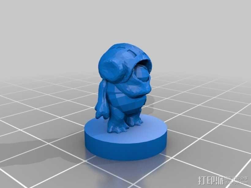 Pocket-Tactics:戈尔 3D模型  图3