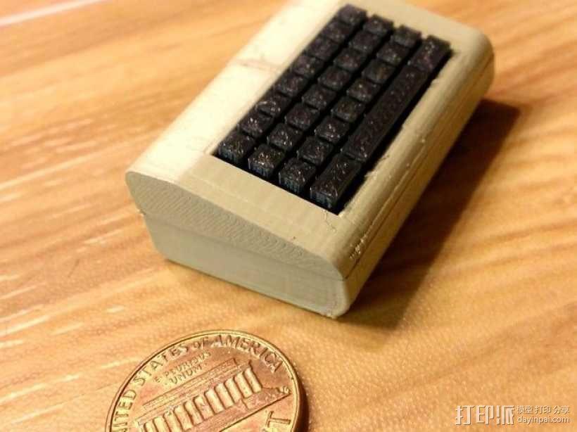 迷你Commodore电脑模型 3D模型  图1