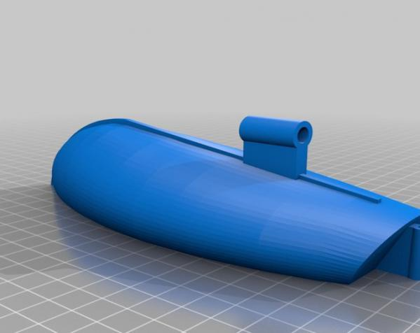 迷你帆船模型 3D模型  图2