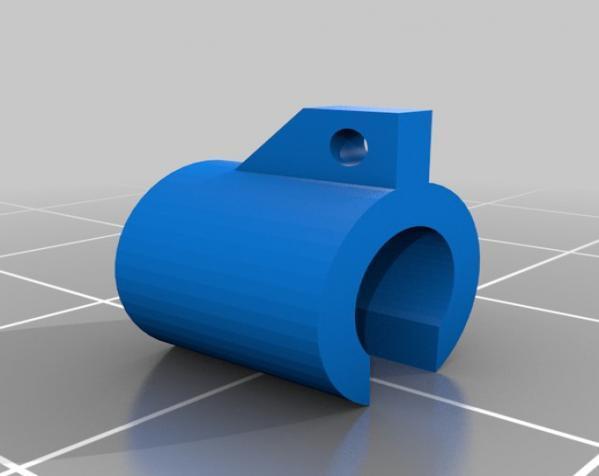 迷你帆船模型 3D模型  图4