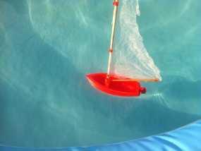 迷你帆船模型 3D模型