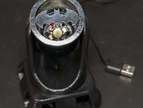 蝙蝠型LED照明灯 3D模型