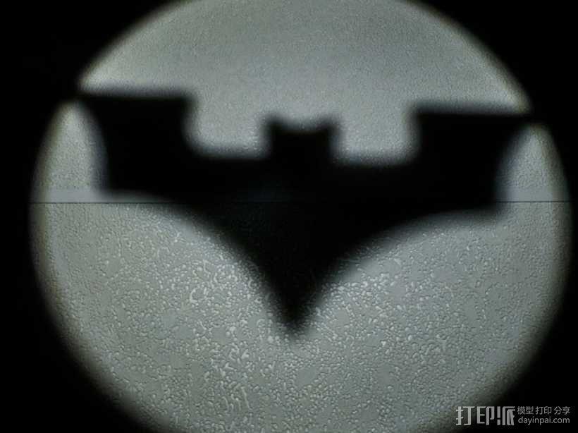 蝙蝠型LED照明灯 3D模型  图4