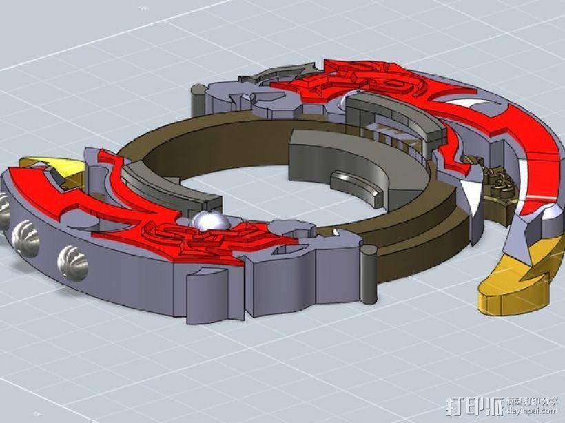 战斗陀螺攻击环模型 3D模型  图6