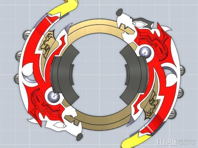 战斗陀螺攻击环模型 3D模型  图8