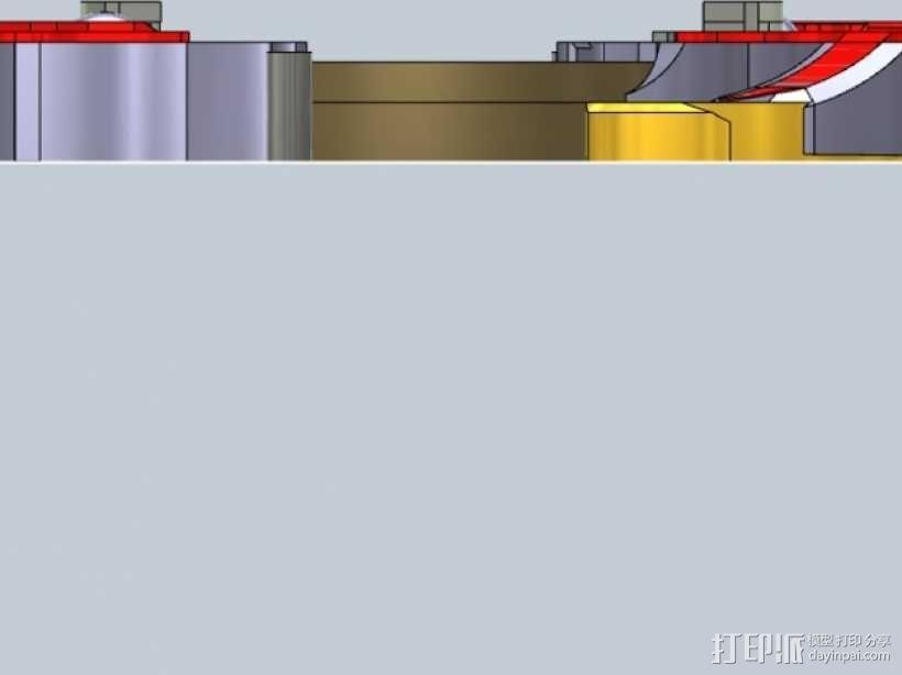 战斗陀螺攻击环模型 3D模型  图10