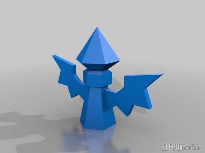 英雄联盟:侦查守卫模型 3D模型  图1