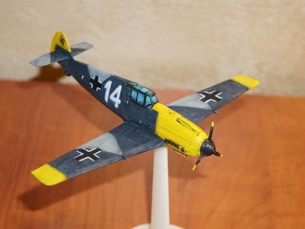 战争游戏:梅塞施米特式战斗机 3D模型  图6