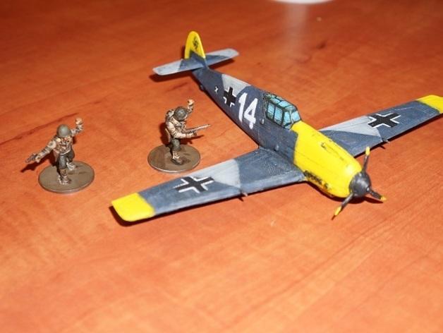 战争游戏:梅塞施米特式战斗机 3D模型  图7