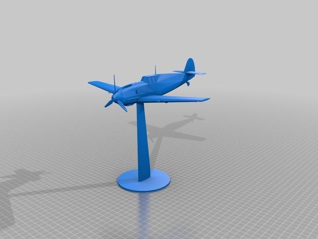 战争游戏:梅塞施米特式战斗机 3D模型  图9