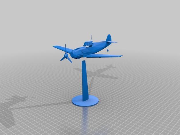 战争游戏:梅塞施米特式战斗机 3D模型  图10