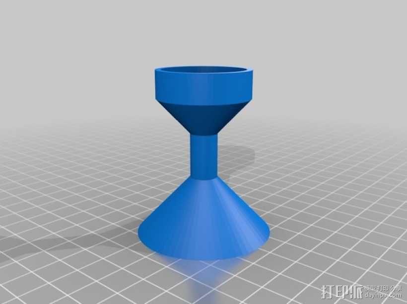 迷你瓶盖陀螺模型 3D模型  图4