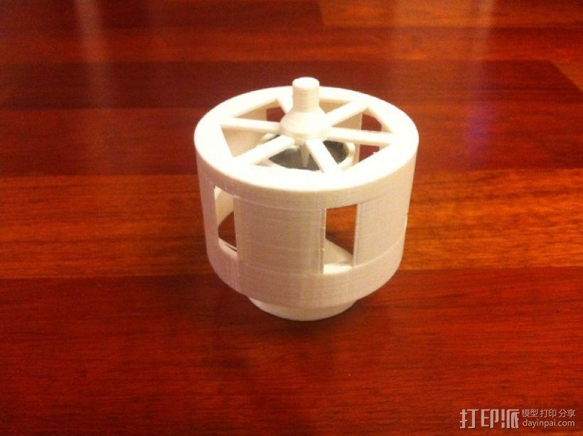 迷你瓶盖陀螺模型 3D模型  图1