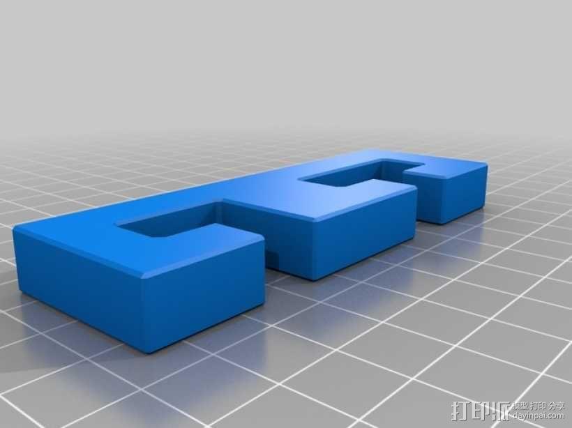 迷你鲁班锁模型3 3D模型  图3