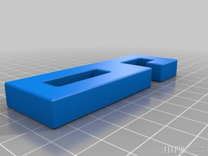 迷你鲁班锁模型3 3D模型  图4