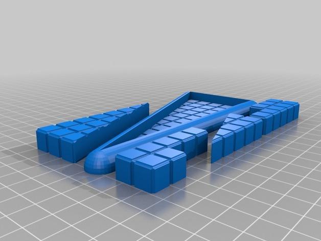 """""""遗失的四边形""""拼图模型 3D模型  图4"""