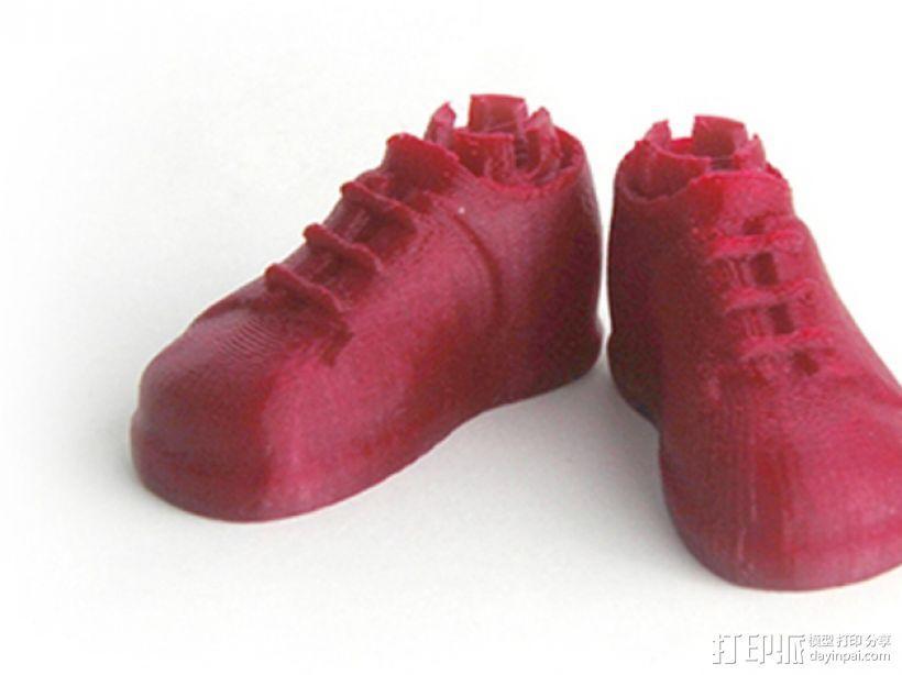 Makies布洛克鞋 3D模型  图1