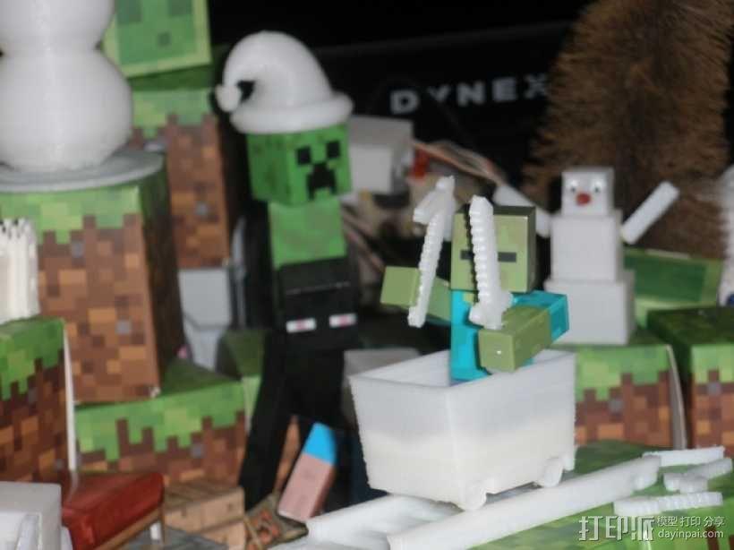 Minecraft玩偶武器包 3D模型  图4
