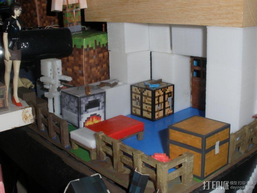 Minecraft玩偶武器包 3D模型  图5