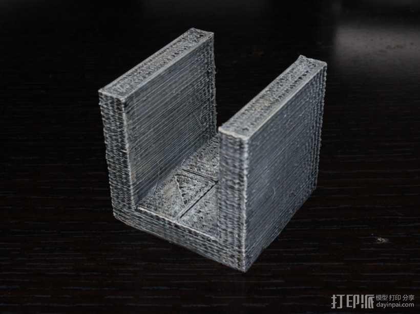 OpenForge平滑走廊瓦片模型 3D模型  图1