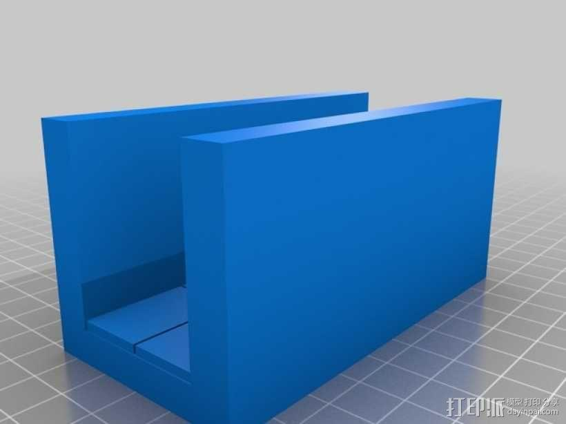 OpenForge平滑走廊瓦片模型 3D模型  图4