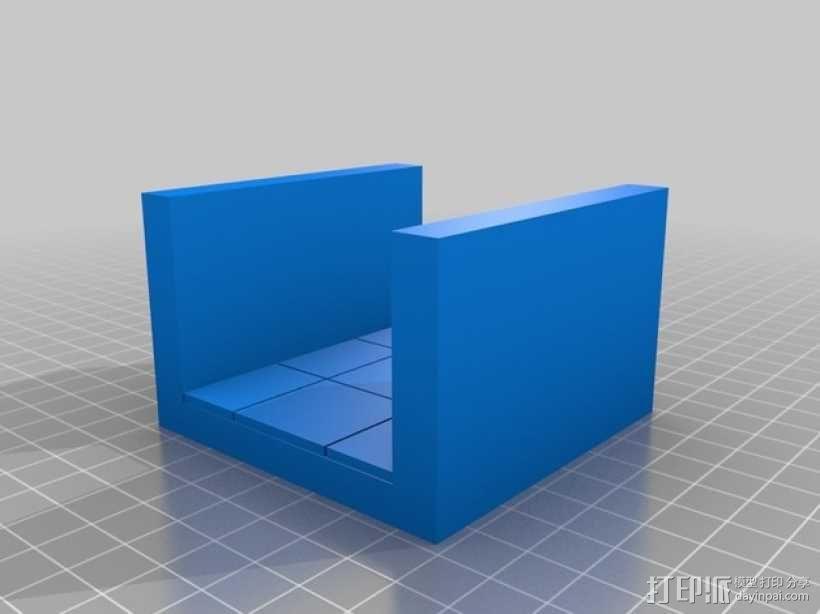 OpenForge平滑走廊瓦片模型 3D模型  图6
