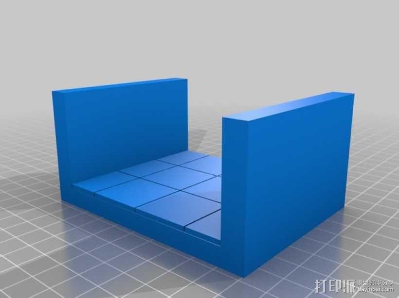 OpenForge平滑走廊瓦片模型 3D模型  图5