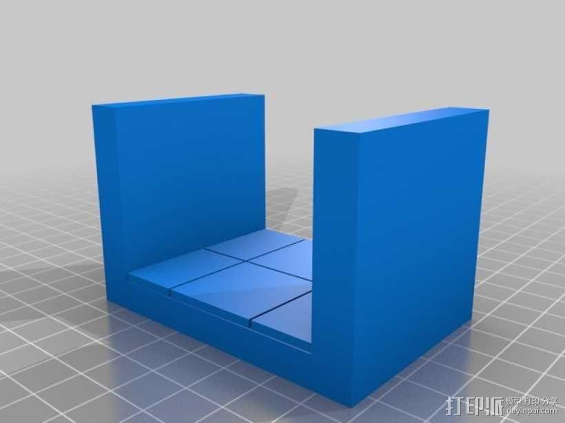 OpenForge平滑走廊瓦片模型 3D模型  图9