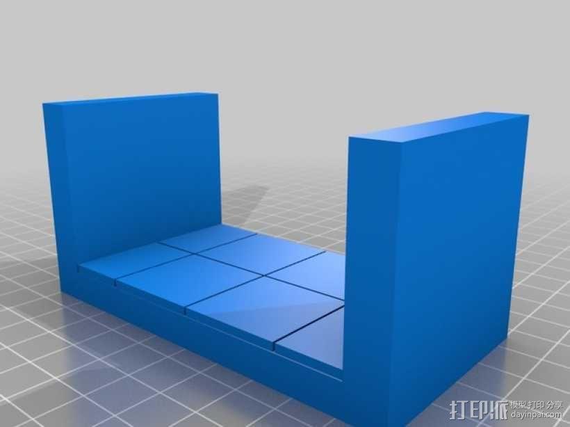 OpenForge平滑走廊瓦片模型 3D模型  图8