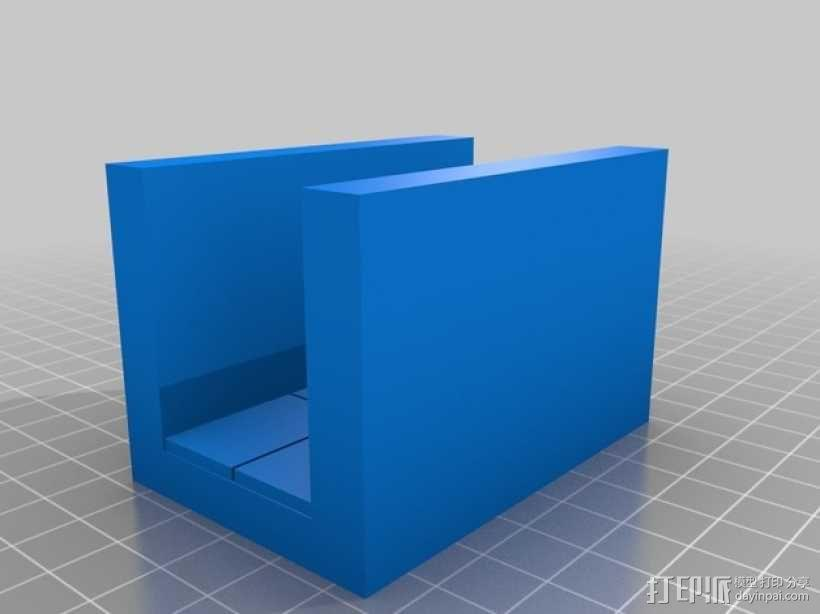 OpenForge平滑走廊瓦片模型 3D模型  图7