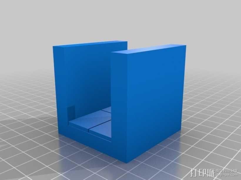 OpenForge平滑走廊瓦片模型 3D模型  图10