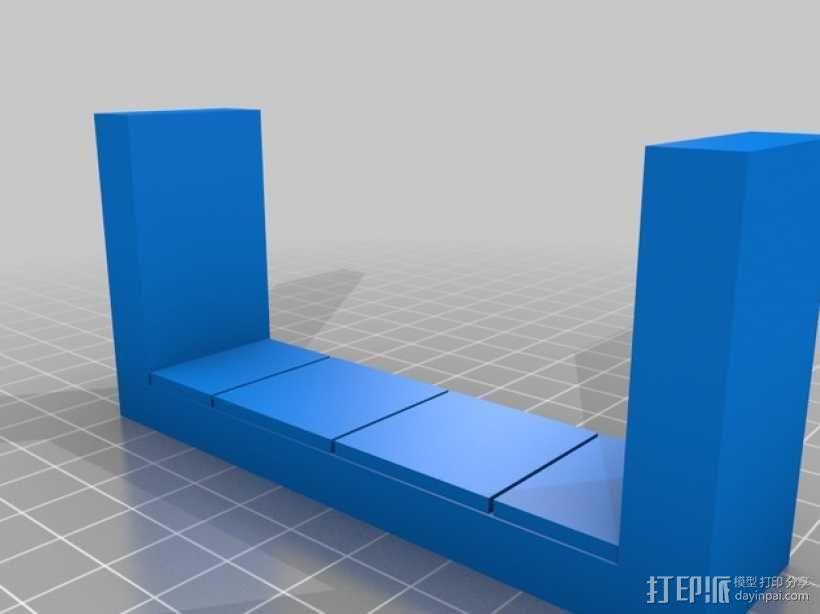 OpenForge平滑走廊瓦片模型 3D模型  图11