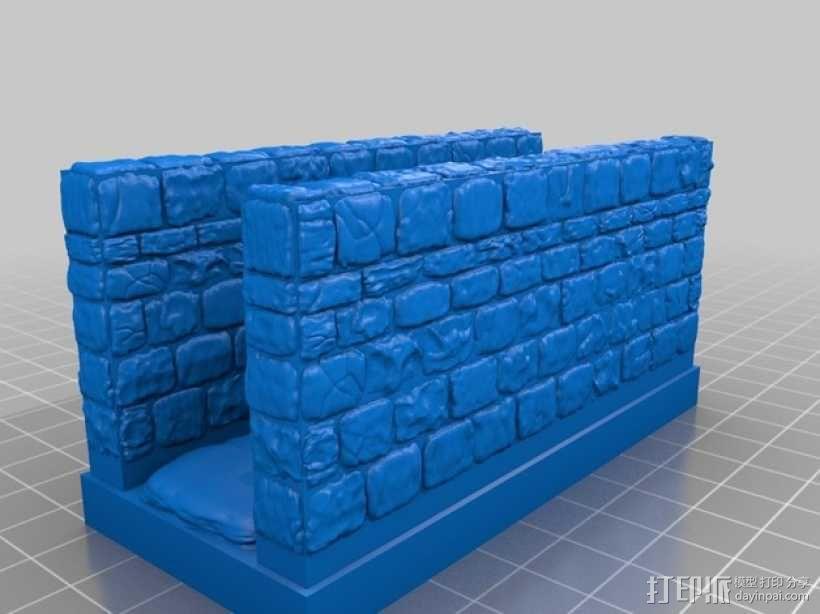 OpenForge雉堞走廊模型 3D模型  图15
