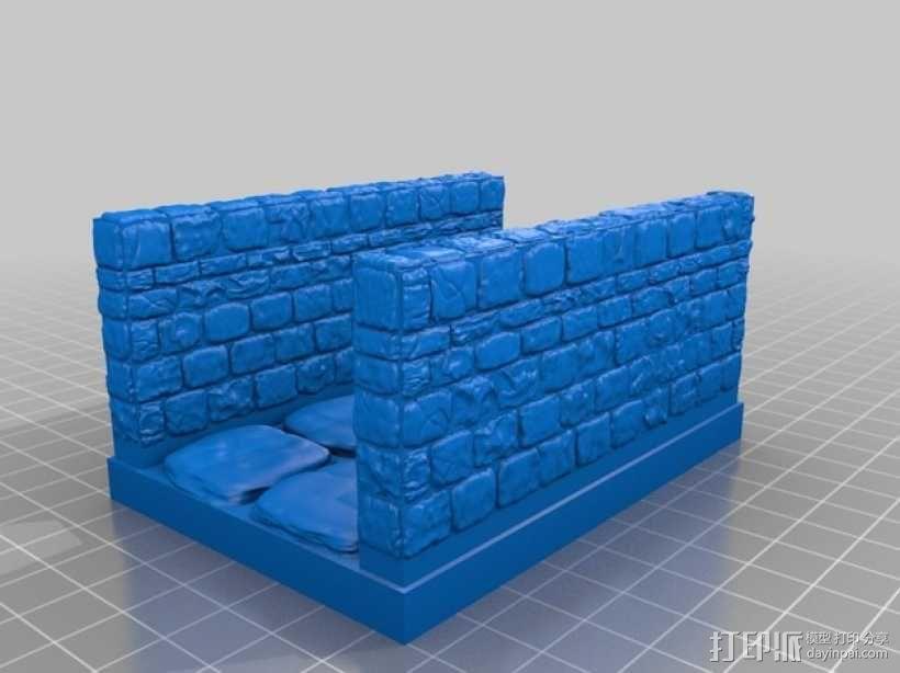 OpenForge雉堞走廊模型 3D模型  图16