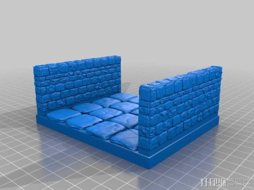 OpenForge雉堞走廊模型 3D模型  图18