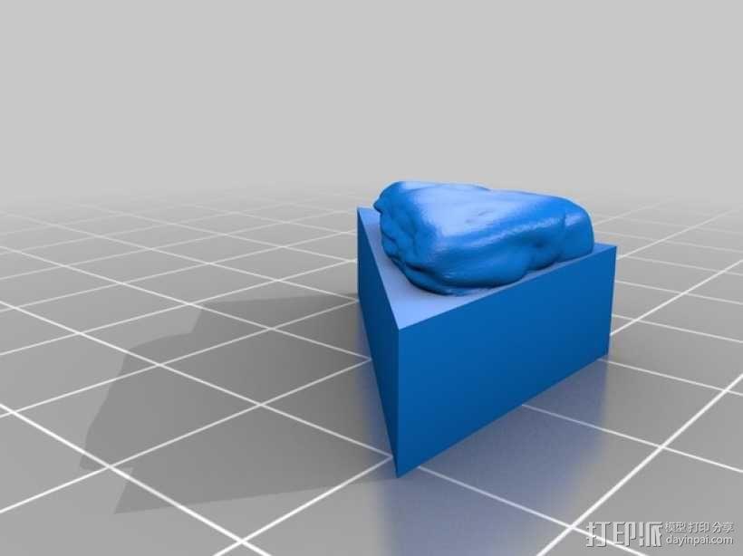 OpenForge地牢斜墙模型 3D模型  图6