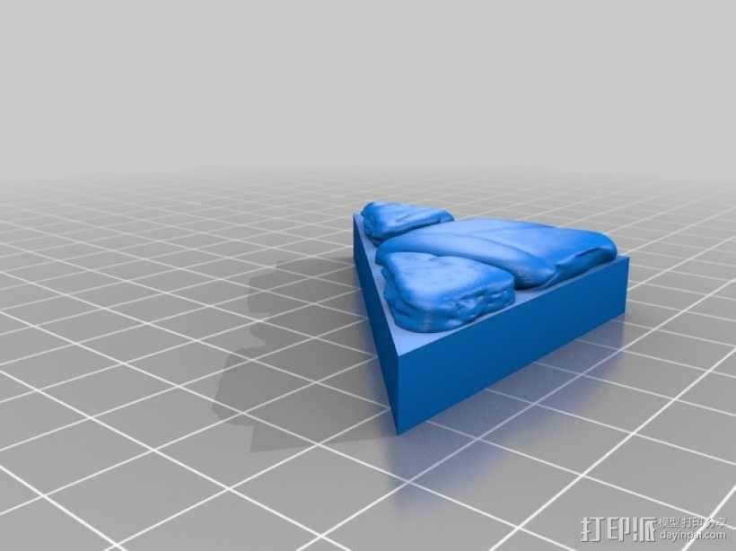 OpenForge地牢斜墙模型 3D模型  图8
