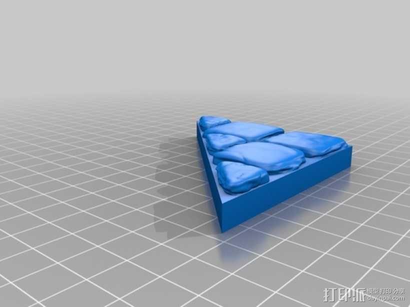 OpenForge地牢斜墙模型 3D模型  图10