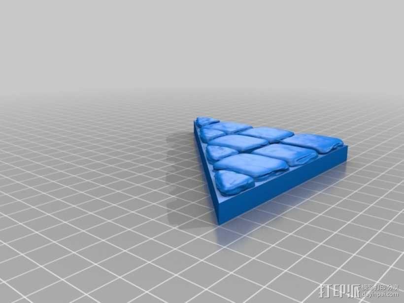 OpenForge地牢斜墙模型 3D模型  图12