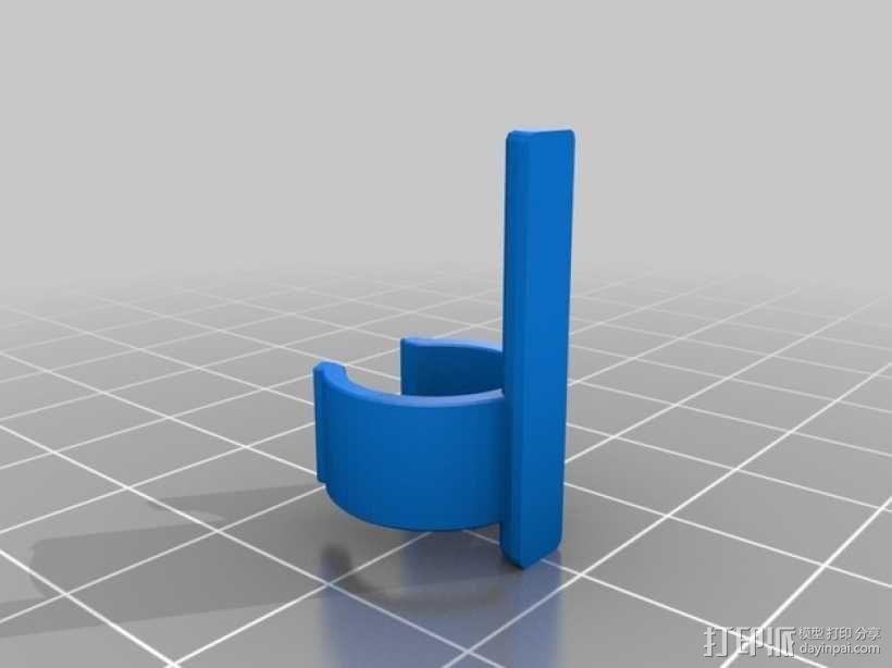 迷你反曲弓模型 3D模型  图3