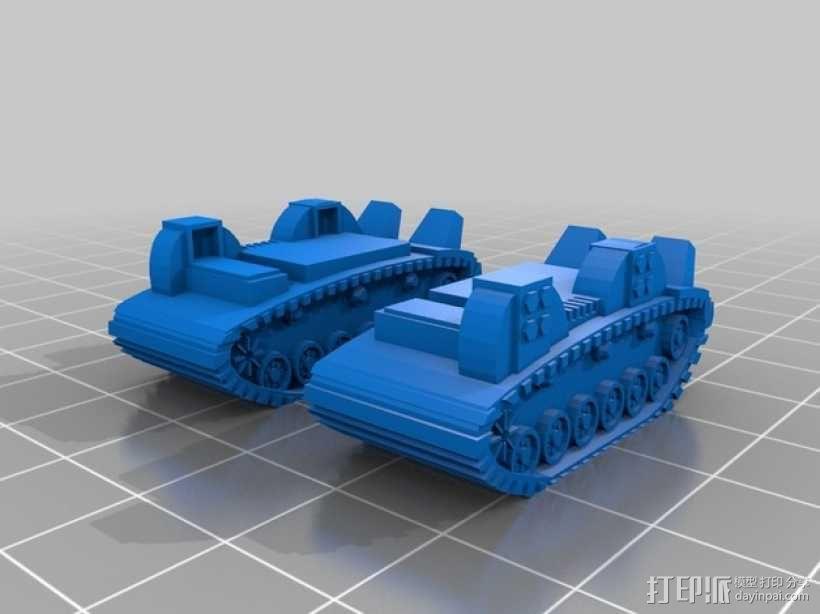 小矮人隧道掘进机模型 3D模型  图4