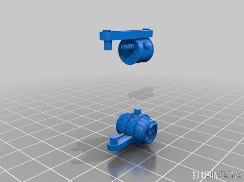 小矮人隧道掘进机模型 3D模型  图6