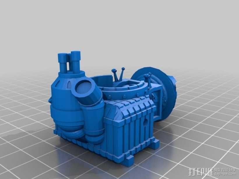 小矮人隧道掘进机模型 3D模型  图8