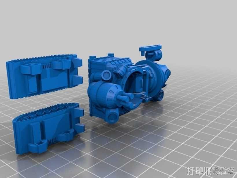 小矮人隧道掘进机模型 3D模型  图9