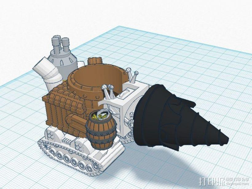 小矮人隧道掘进机模型 3D模型  图10