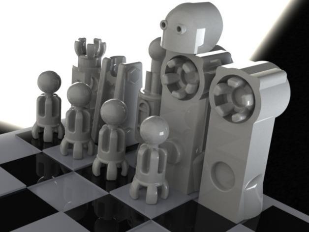 CHE3PO机器人象棋 3D模型  图9