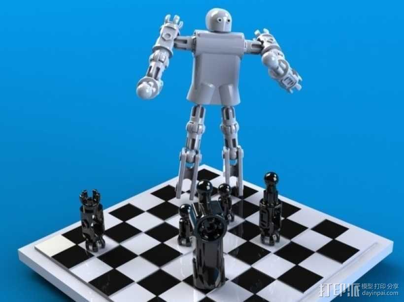 CHE3PO机器人象棋 3D模型  图11