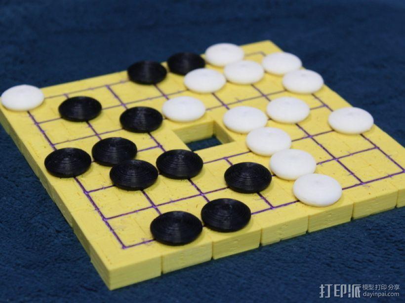 模块化磁力棋盘模型 3D模型  图2